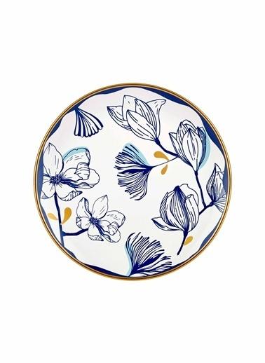 The Mia Bleu Pasta Tabağı 6lı Set - 19cm Mavi